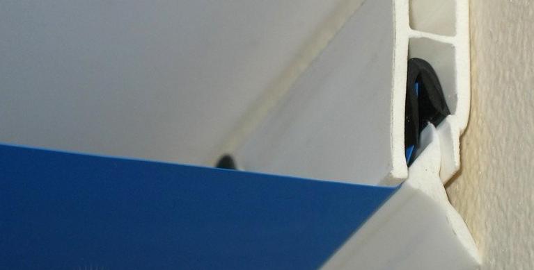 Уплотнители для натяжного потолка